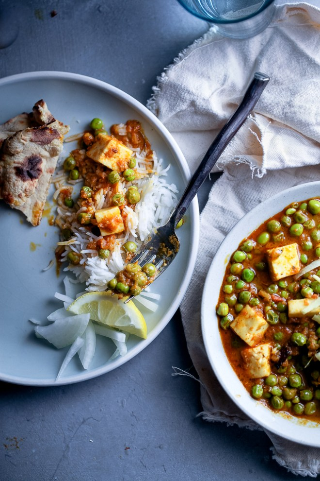 Sinfully Spicy : Matar Paneer