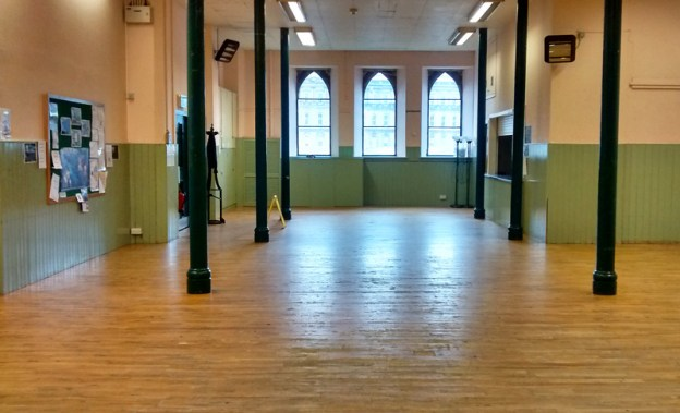 Old St Paul's hall, venue for SongTribe choir rehearsals