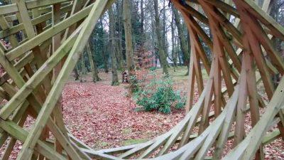 Wiston Lodge grounds