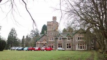 Wiston Lodge near Biggar