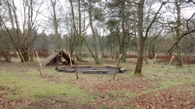 Wiston Lodge firepit