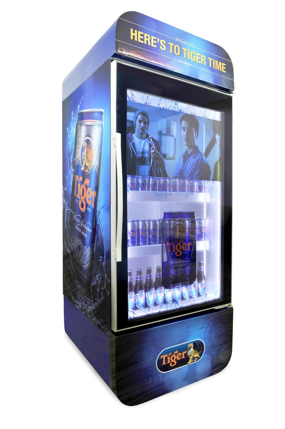 Tiger Beer Multimedia LCD Chiller
