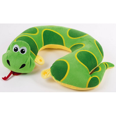 Sammy the snake travel neck rest