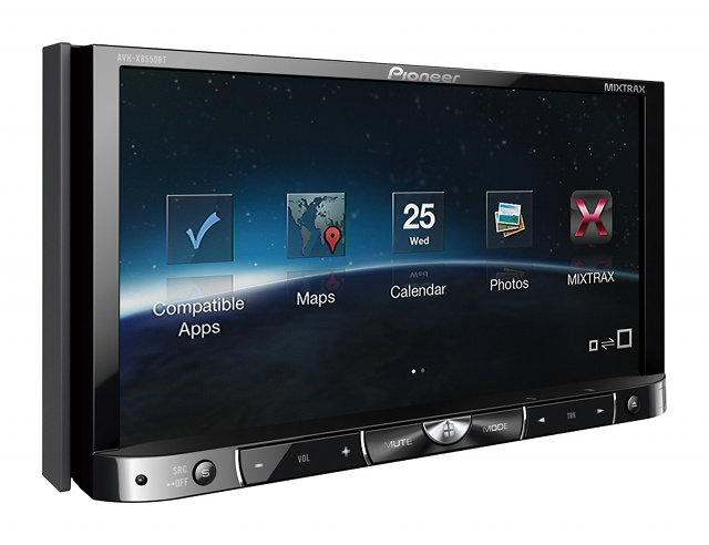 PIONEER AVH-X8550BT Screen