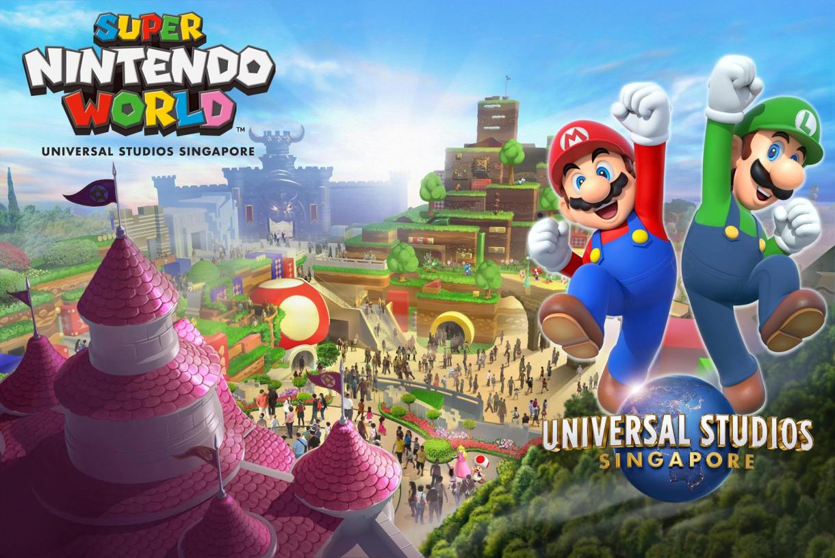 USS to open Minion Park & Nintendo World by 2025