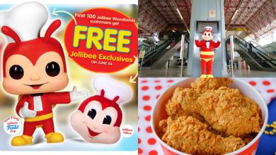free exclusive Jollibee merchandise