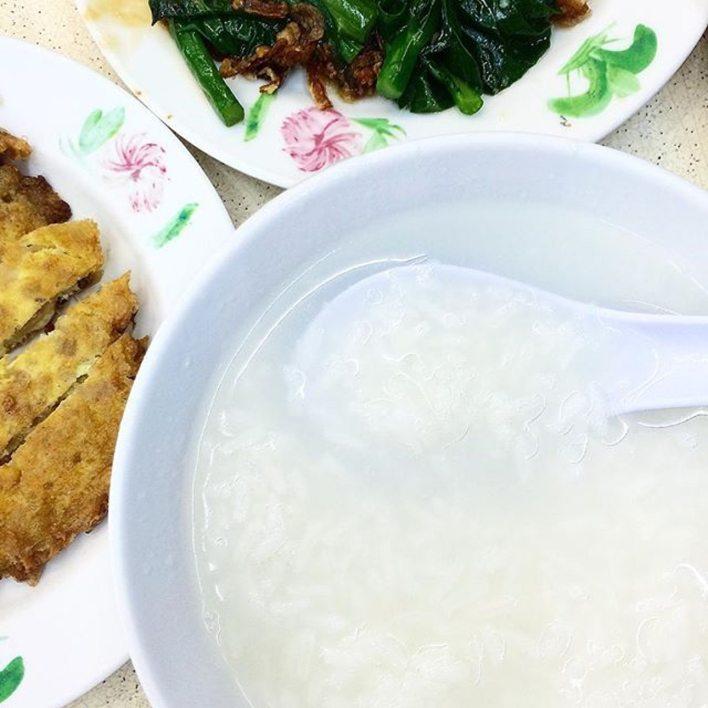 teochew porridge.