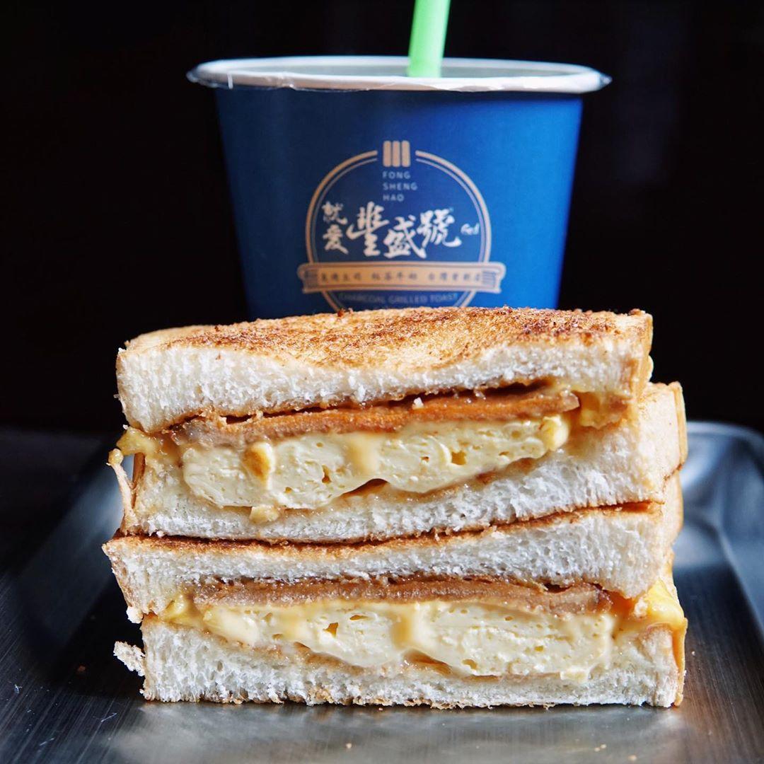 Fong Sheng Hao Toast Shilin Night Market Singapore New