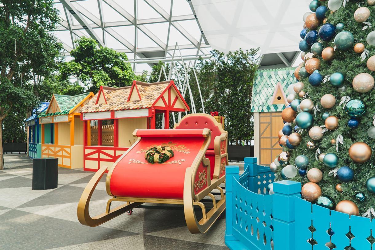 Changi Airport Christmas
