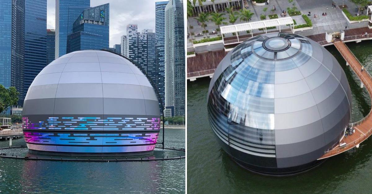 MBS' Latest Apple Store Looks Like UFO (Unidentified Floating ...