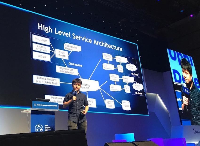 Ben presents BitGo's infrastructure