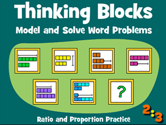 Thinking Blocks Ratio & Proportion