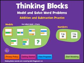 Thinking Blocks Addition and Subtraction