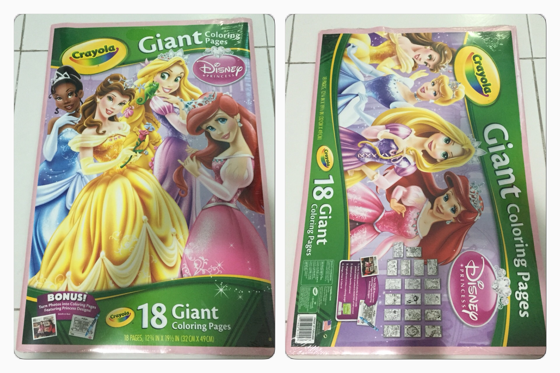 Crayola Disney Princess Giant Coloring Pages Coloring Page