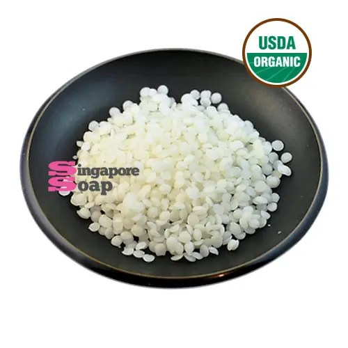 White Beeswax Pellets (100% Pure & Certified Organic)