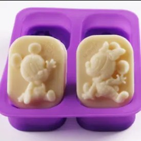 Mickey Mouse Soap Mold