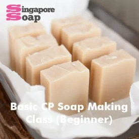 Basic Cold Process Soap Making Class (CP Soap)