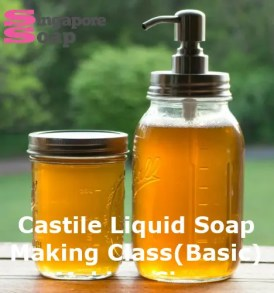 Castile Liquid Soap Making Class (Basic)