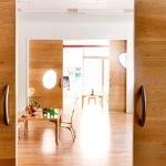 Wooden Sliding Door Non Warping Patented Wooden Pivot Door Sliding Door And Eco Friendly Metal Cores