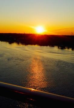 Beautiful sunsets are a regular added bonus!
