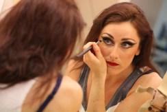 A 'Diva' style Makeup.