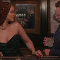 Rihanna Gets Drunk With Late Night Host Seth Meyers