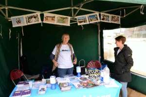 Sing for Water 2015 - the WaterAid Stall