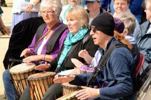 Sing for Water Cardiff 2015 - Drummers