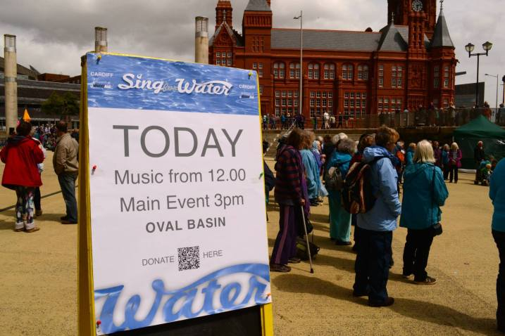 Sing for Water Cardiff 2015 - Come and Support us