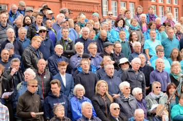 Sing for Water Cardiff 2015 - Basses in Navy Blue