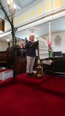 The Rev'd Jules Gibb giving her sermon
