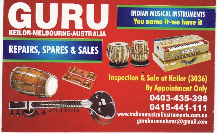 Guru Australia Buy Indian Musical Instruments In Melbourne