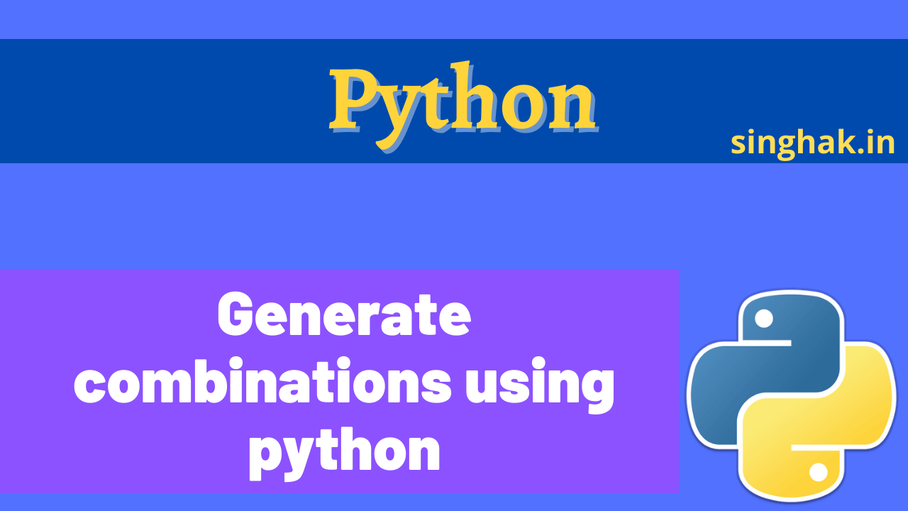 Generate any number of combination of letter | Python generate all 3 letter combinations