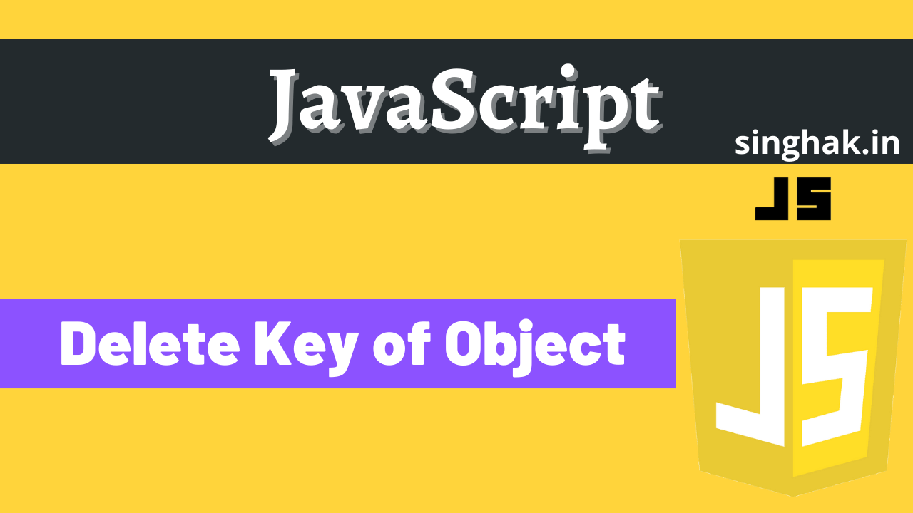 Different ways to remove the key from the javaScript object
