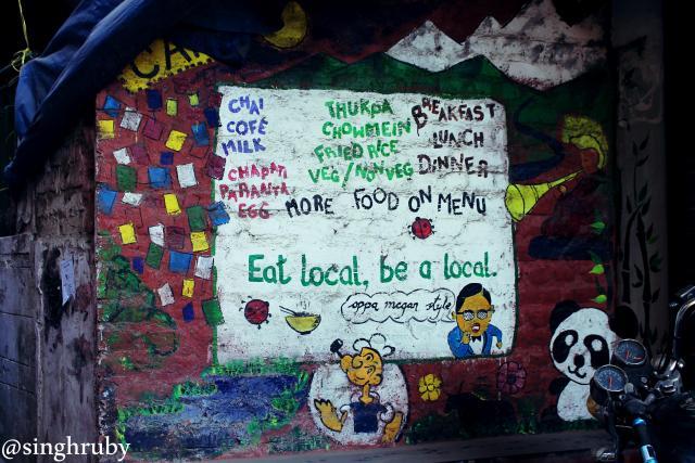 Local graffitti