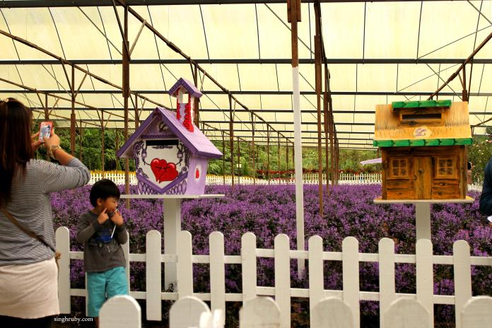 The entrance of the Lavender Garden.