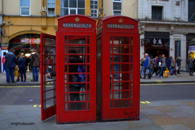 Red Telephone Booth London