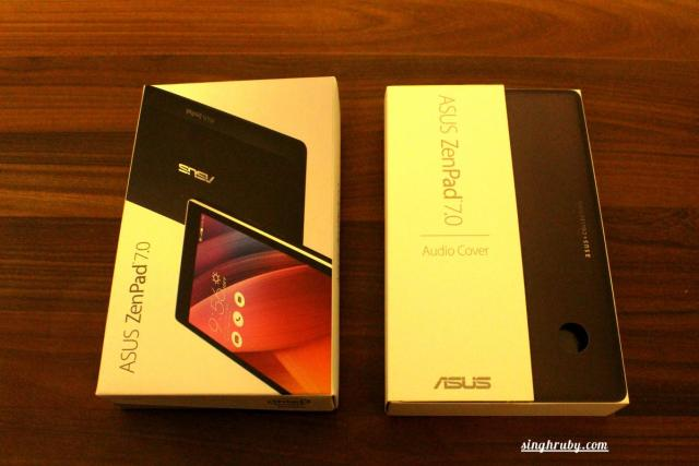 Asus ZenPad 7.0 and the Cover