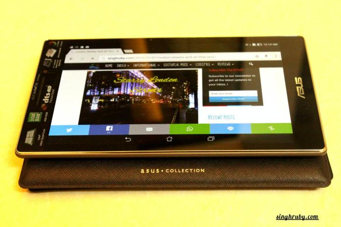 Blogging with Asus ZenPad 7.0