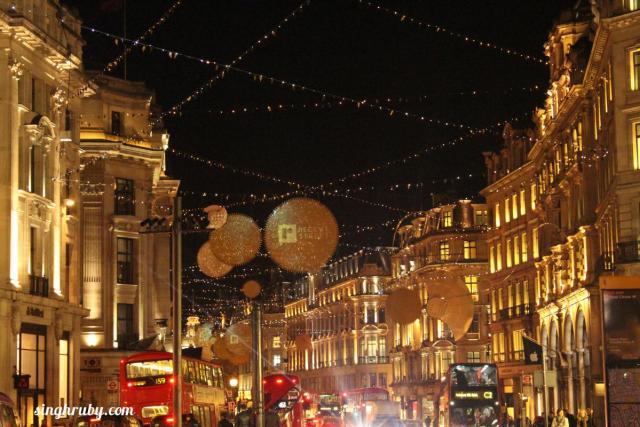 Starry London Streets