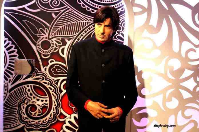 Amitabh Bacchan at Madam Tussauds London