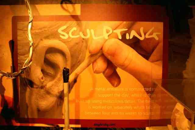 Sculpting at Madam Tussaud