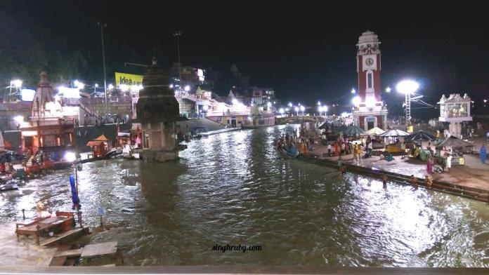View of Ganges from the Bridge