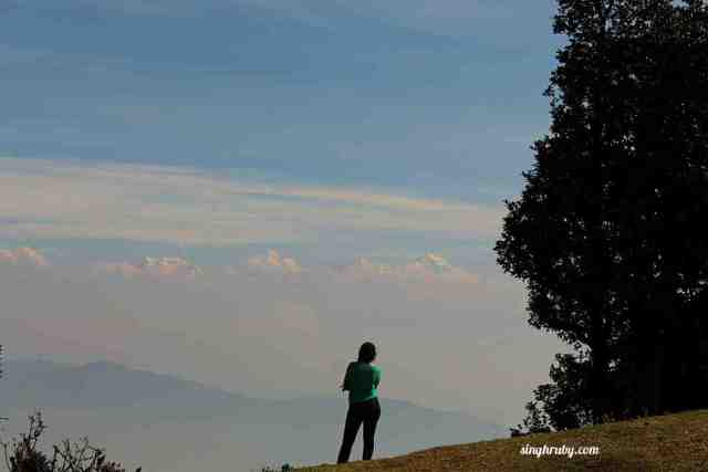 Soaking in the beauty at Nagtibba