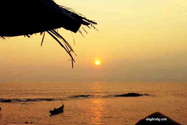 Sunset at Goa