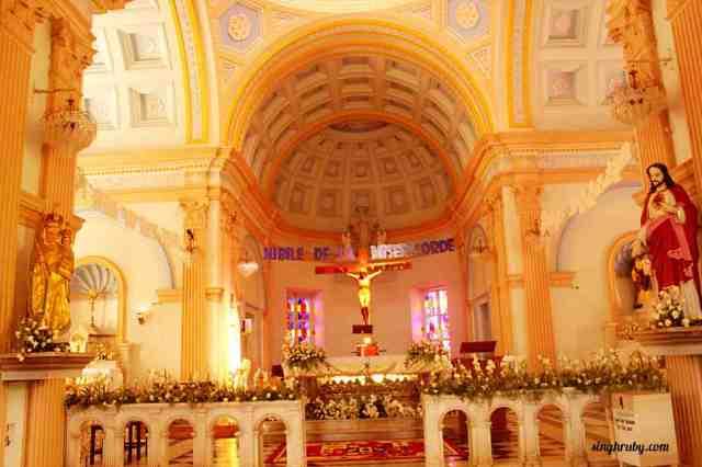 Beautiful church in Pondicherry