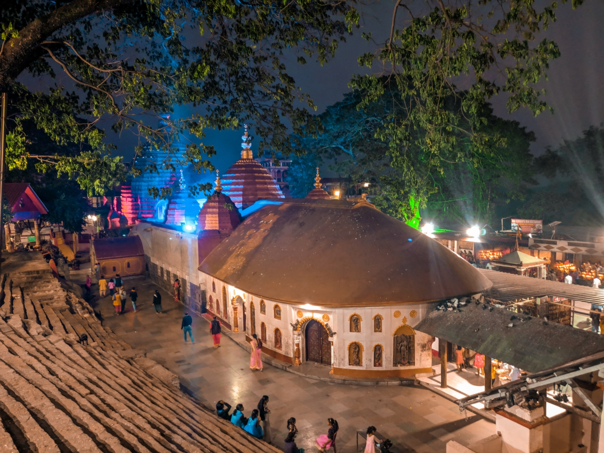 Pushing my Luck at Maa Kamakhya Temple in Guwahati - Life and Its  Experiments