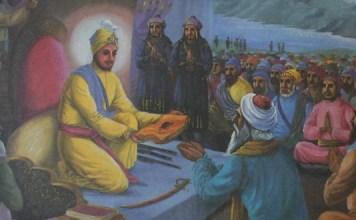 Sacrifice of Pir Budhu Shah