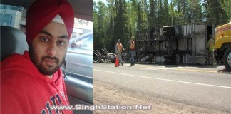 Canada based Punjabi truck driver Ranbir Sandhawalia died in truck crash