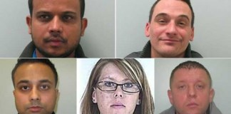uk sex trafficking gang